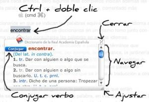 Diccionario de la Real Academia Española Extensión en Chrome