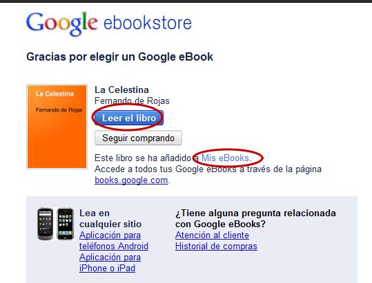 Gracias por elegir un Google eBook