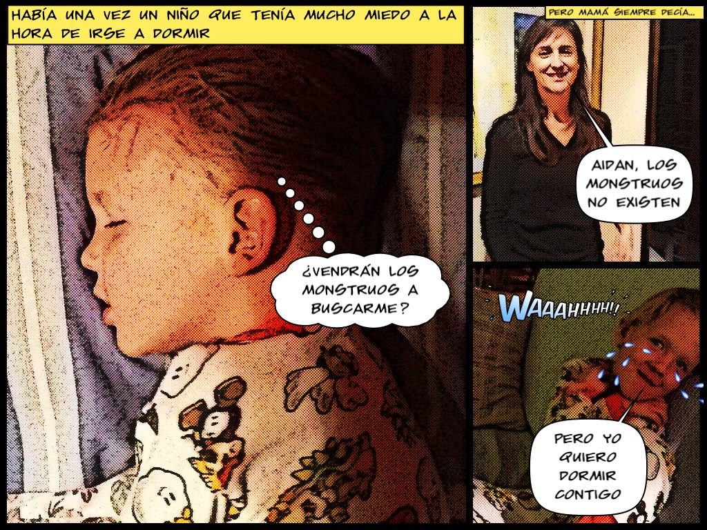 Comic Book - creado con iPad