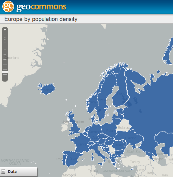 Densidad de Población en Europa