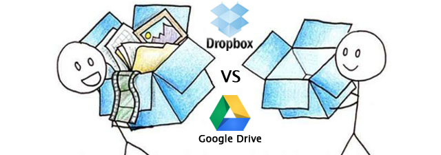 Google Drive contra DropBox
