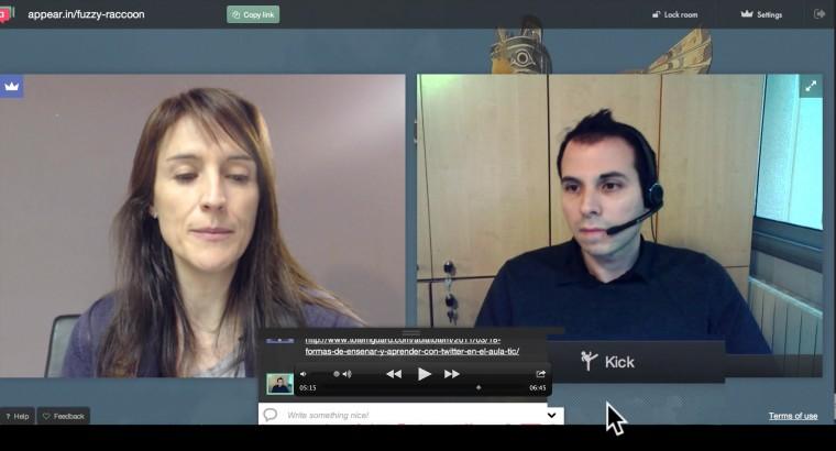 videoconferencia reunion virtual tutoría online