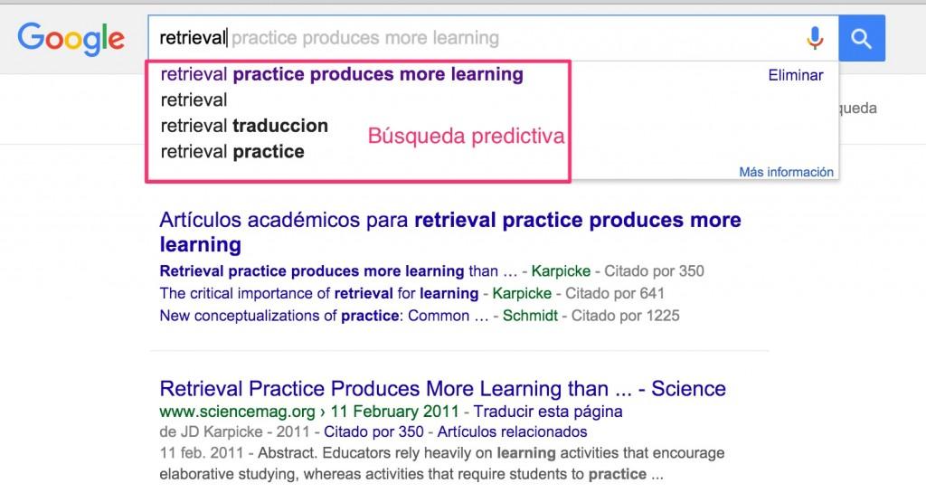 google instant búsqueda predictiva